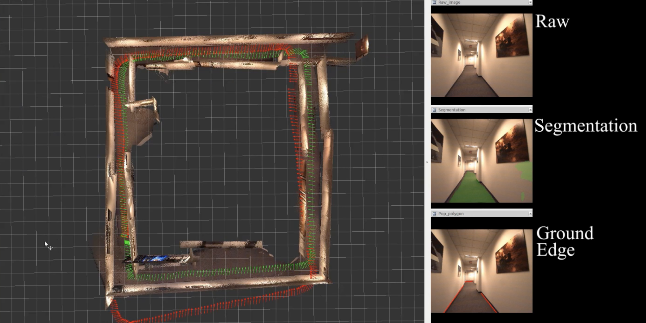 Real-time 3D Scene Layout from Images
